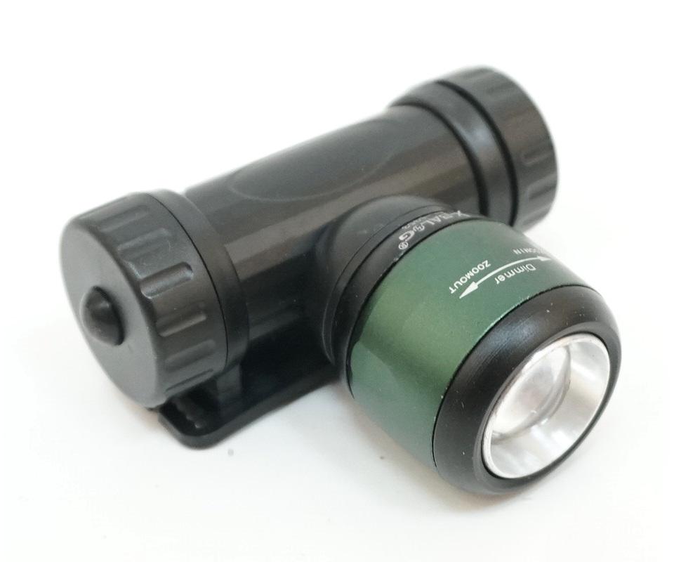 Аккумуляторный налобный фонарь FL6953, 3 режима, зум