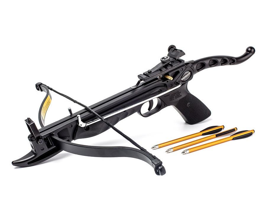 Арбалет-пистолет «Скаут» (Ek Cobra Aluminum) черный