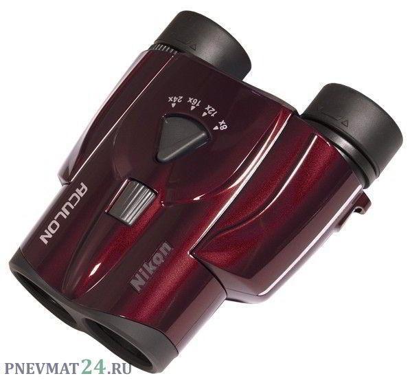 Бинокль Nikon Aculon T11 8-24x25 (красный)