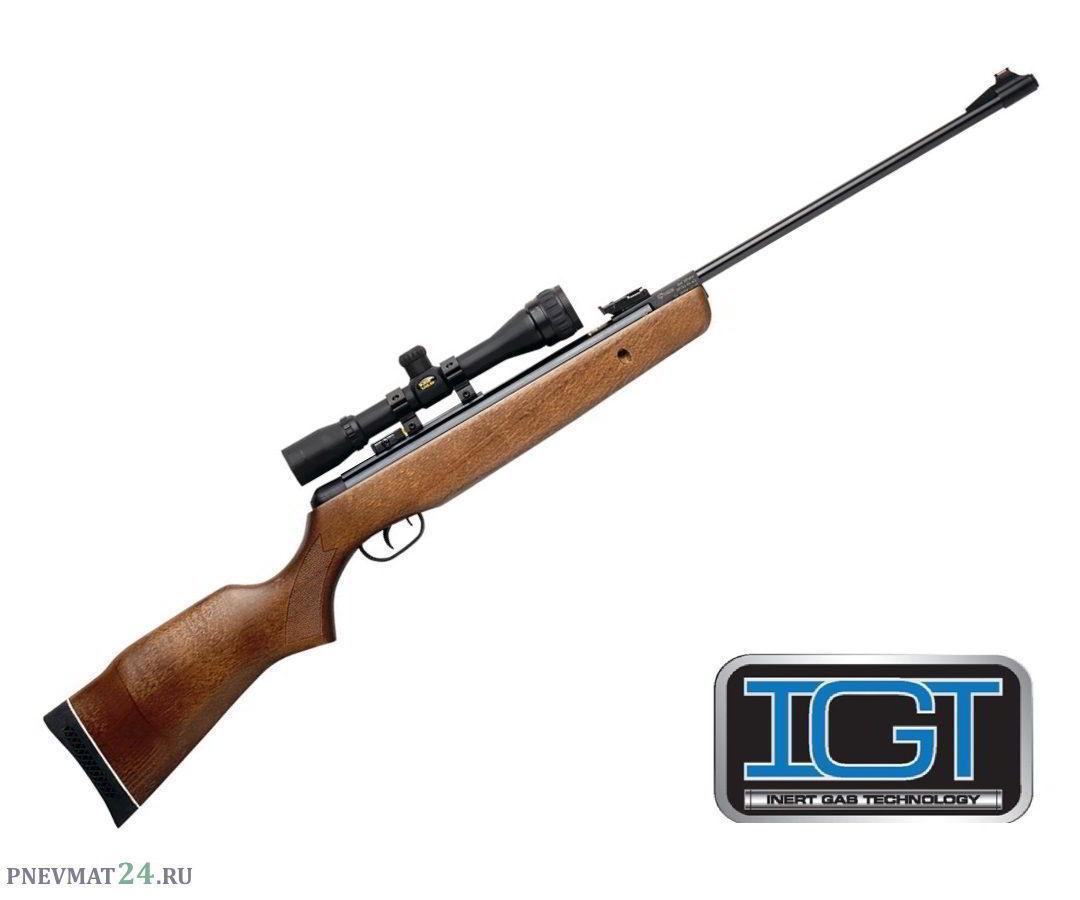 Пневматическая винтовка Gamo Hunter 440 IGT Combo (дерево, прицел 4x32)