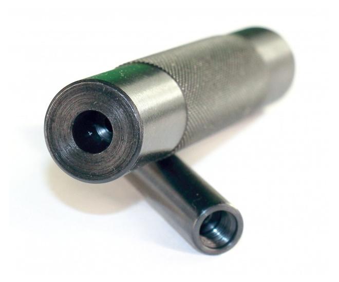 Гладкий ствол с глушителем для МР-654К (удлинитель ствола)