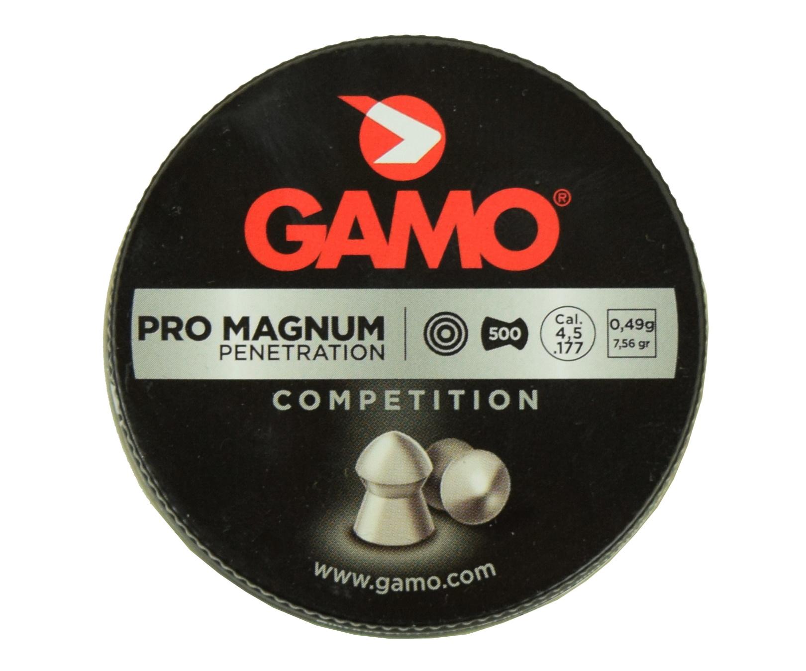Пули Gamo Pro Magnum 4,5 мм, 0,49 грамм, 500 штук