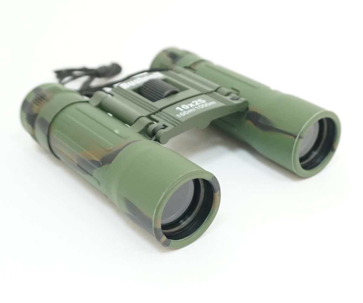 Бинокль Bushnell 10x25, камуфляж зеленый (BH-BB122)