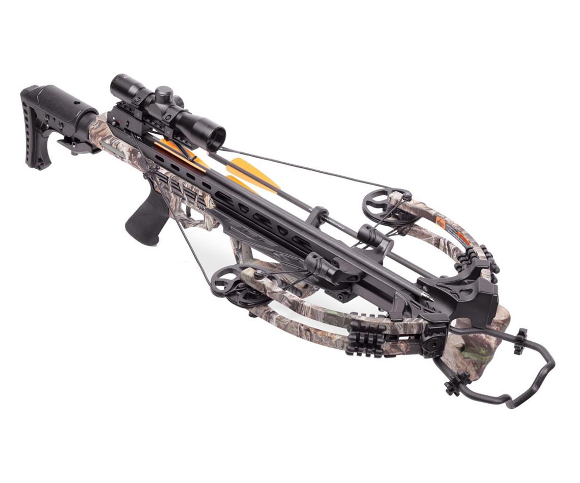 Арбалет блочный Man Kung MK-XB58 Kraken (PKG, камуфляж)