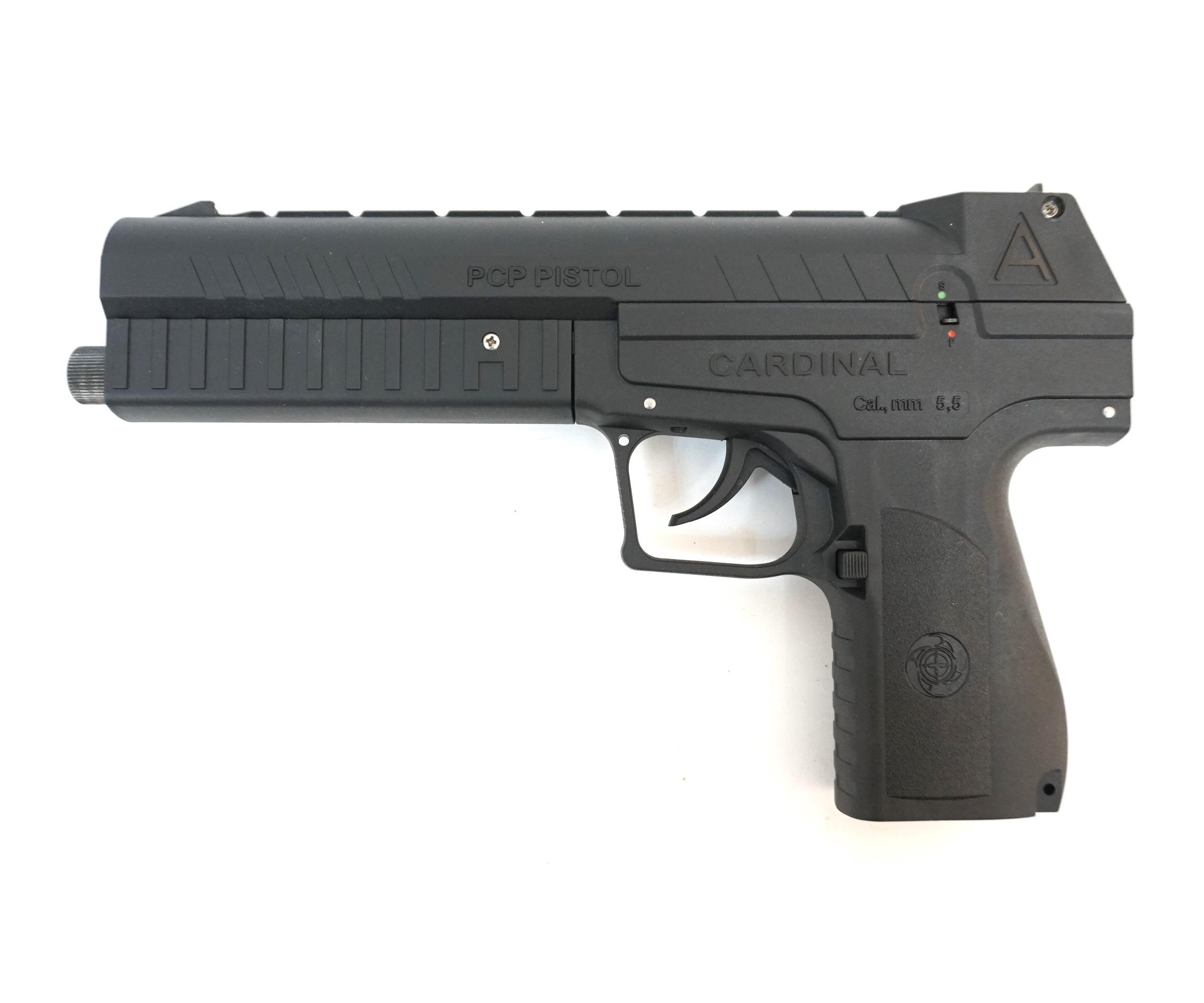Пневматический пистолет Cardinal (PCP, УСМ двойного действия) 5,5 мм купить! Цена в Москве, СПБ