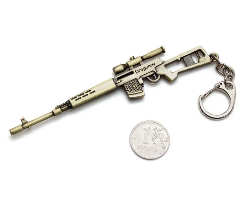 Брелок Microgun S винтовка SVD Драгунова (Gold edition)