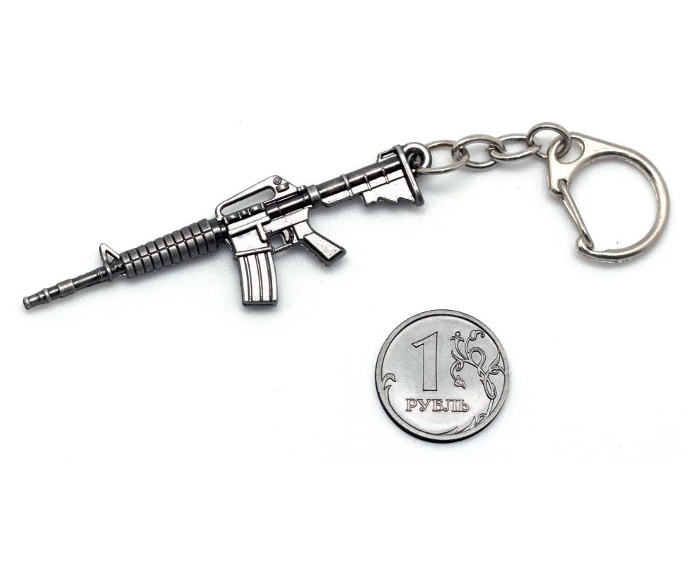 Брелок Microgun XS автомат Colt M4A1
