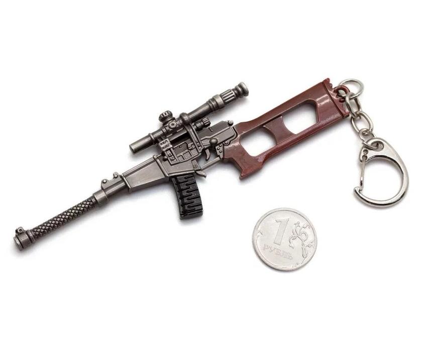 Брелок Microgun SR снайперская винтовка ВСС «Винторез» 6П29
