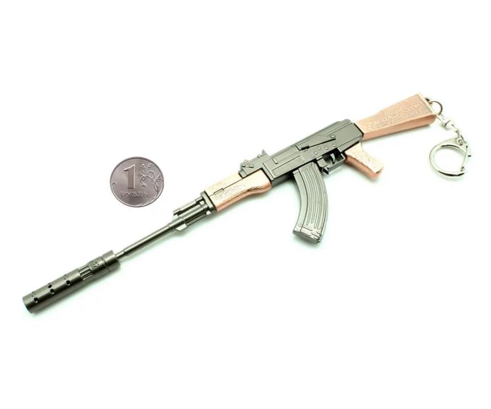 Брелок Microgun M автомат АК-47 модифицированный
