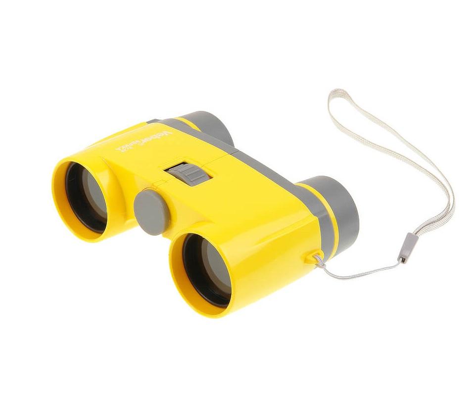 Бинокль Veber Эврика 3х28Y, цвет - желтый