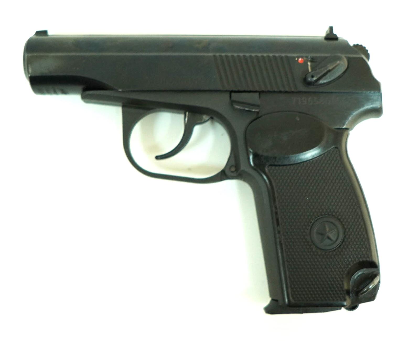  Уценка  Пневматический пистолет МР-658К (ПМ, Blowback) (№ 84349-69-уц)