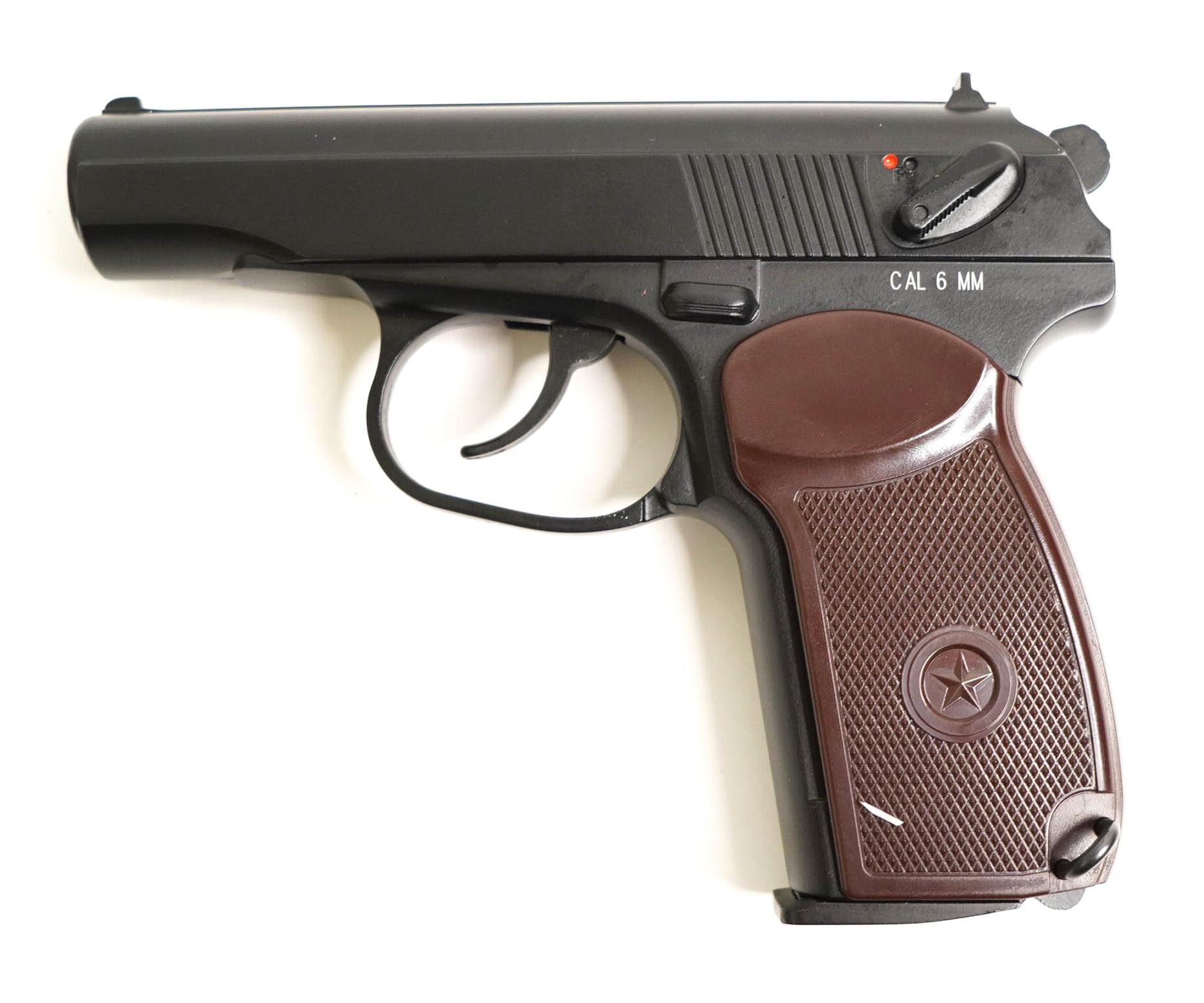 Страйкбольный пистолет KWC PM CO2 NBB (KC-44DHN)