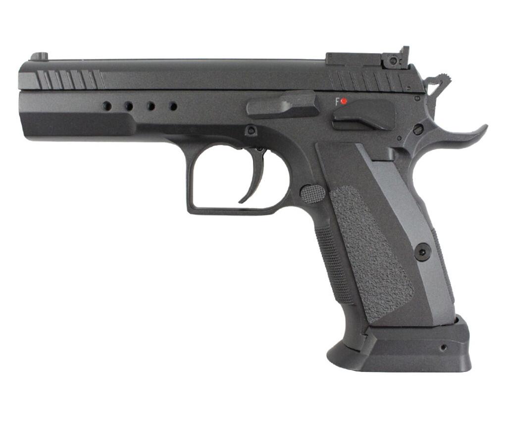 Страйкбольный пистолет KWC KWC CZ 75 TS CO2 GBB (KCB-88AHN)