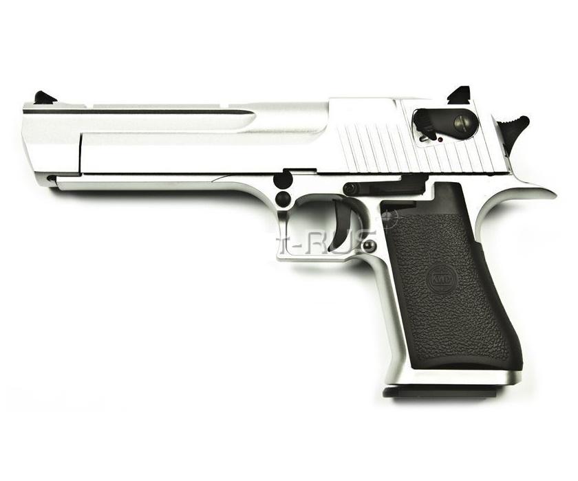 Страйкбольный пистолет KWC Desert Eagle CO2 GBB Chrome (KCB-51ACIH)