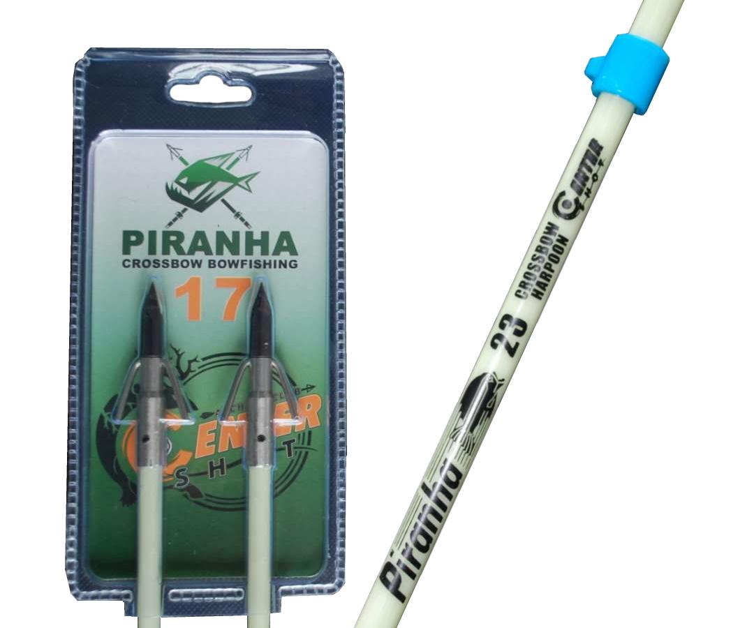 """Гарпун арбалетный Centershot Piranha 17"""" (2 шт.)"""