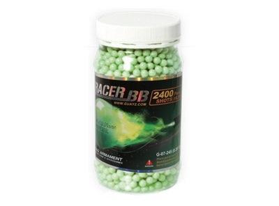 Шары трассерные G&G Tracer 0,28 г, 2400 штук (зеленые) G-07-245