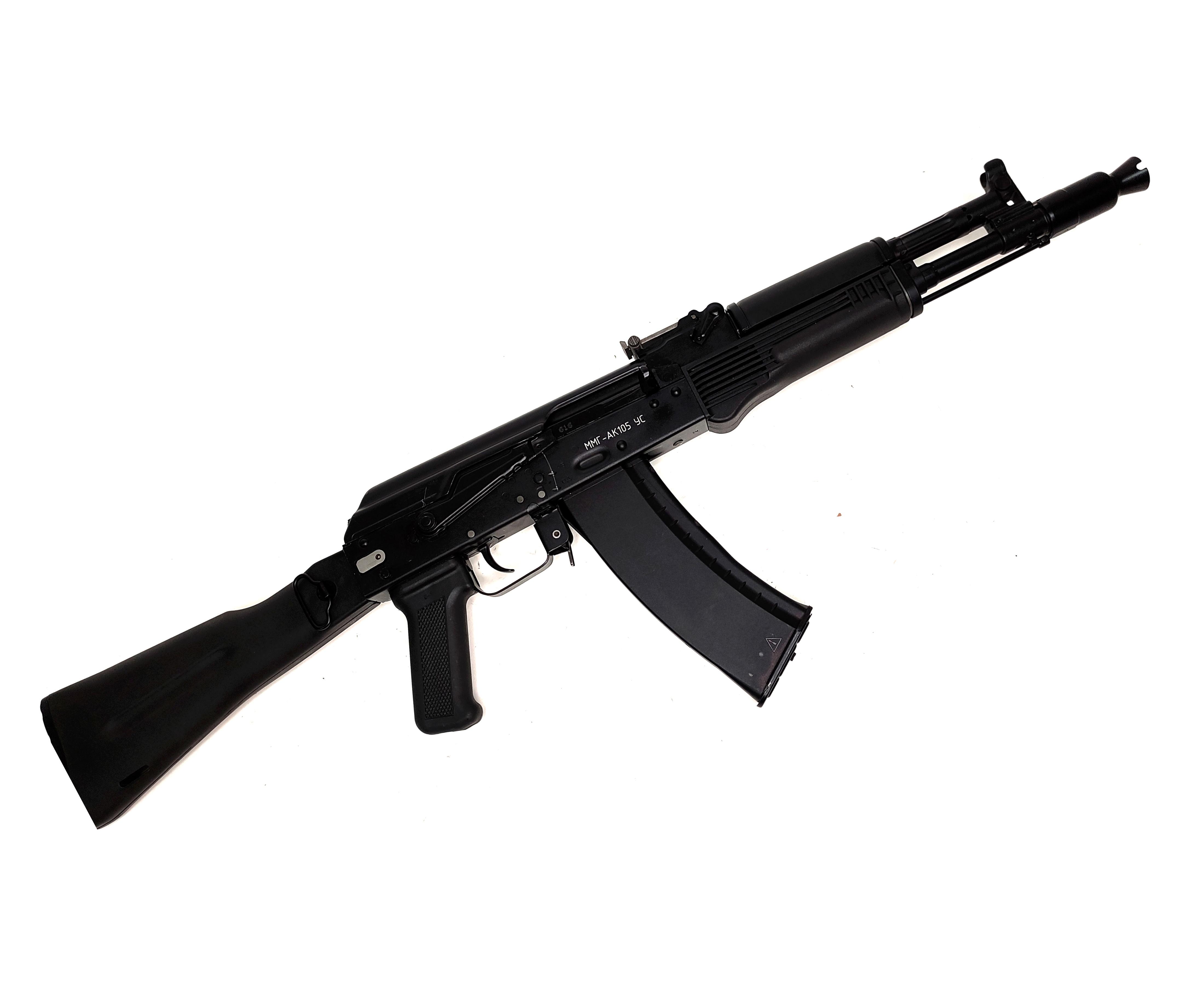  Уценка  ММГ учебный автомат Калашникова АК-105 (складной приклад) (№ ММГ-АК105-183-уц)