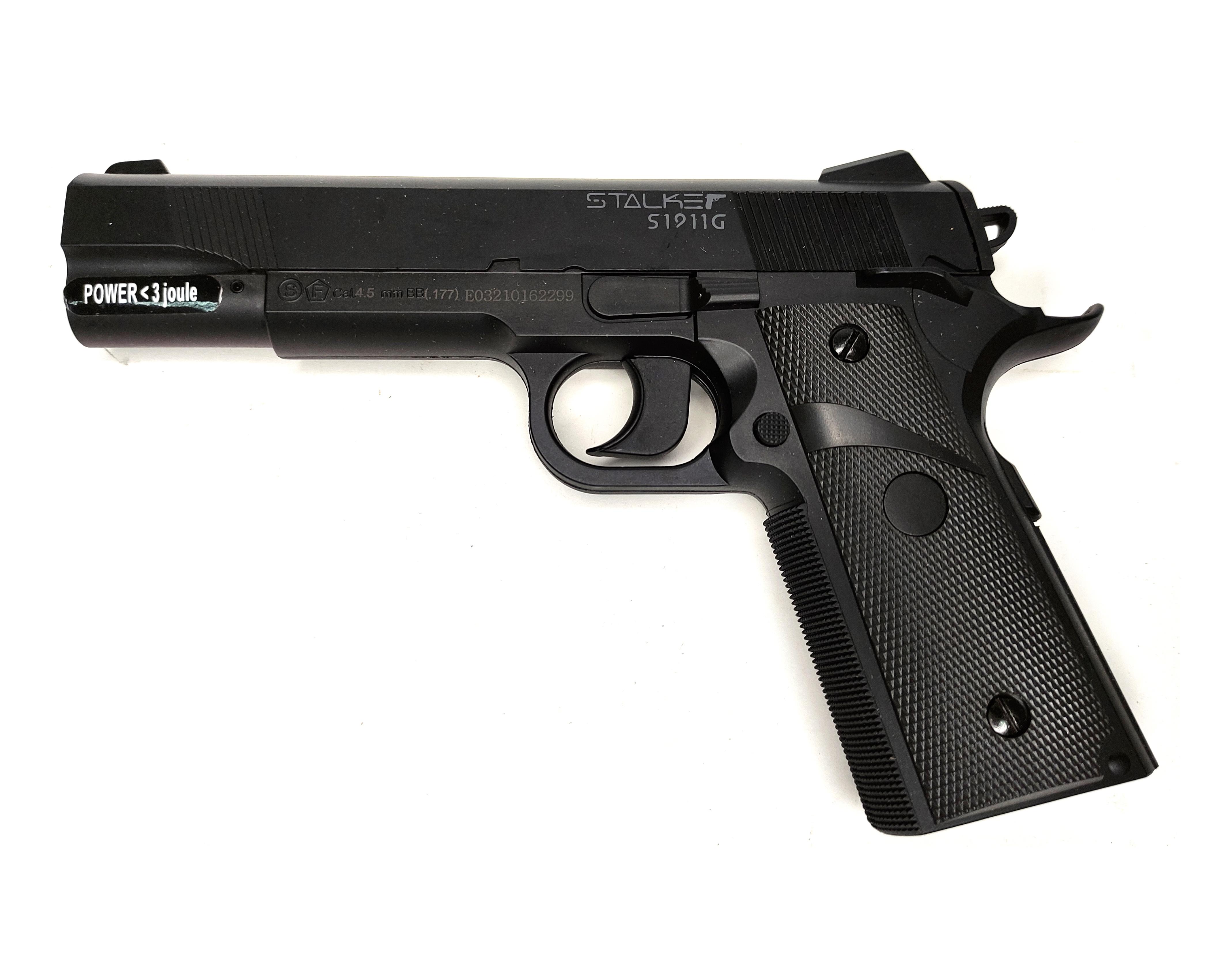 |Уценка| Пневматический пистолет Stalker S1911G, Colt (№ ST-12051G-179-уц)
