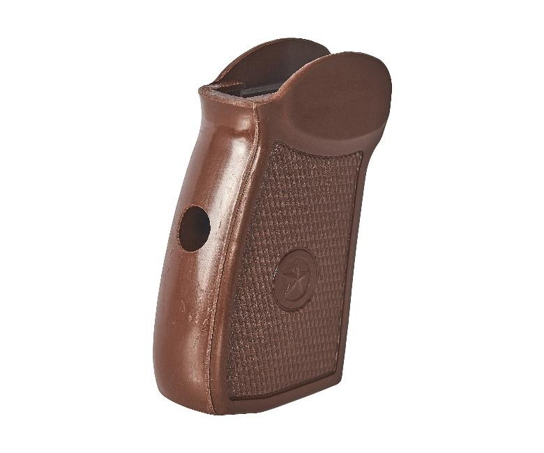 Рукоятка МР-654К нового образца, коричневая (82663)