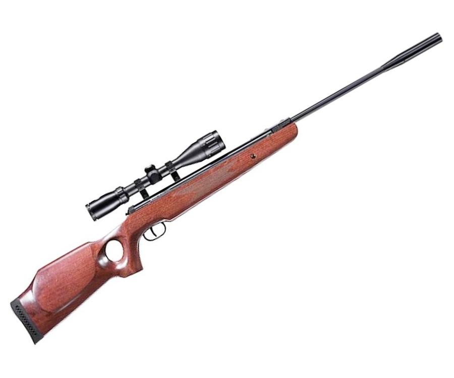 Пневматическая винтовка Umarex Ruger Air Hawk Elite (дерево, прицел 3-9x40)