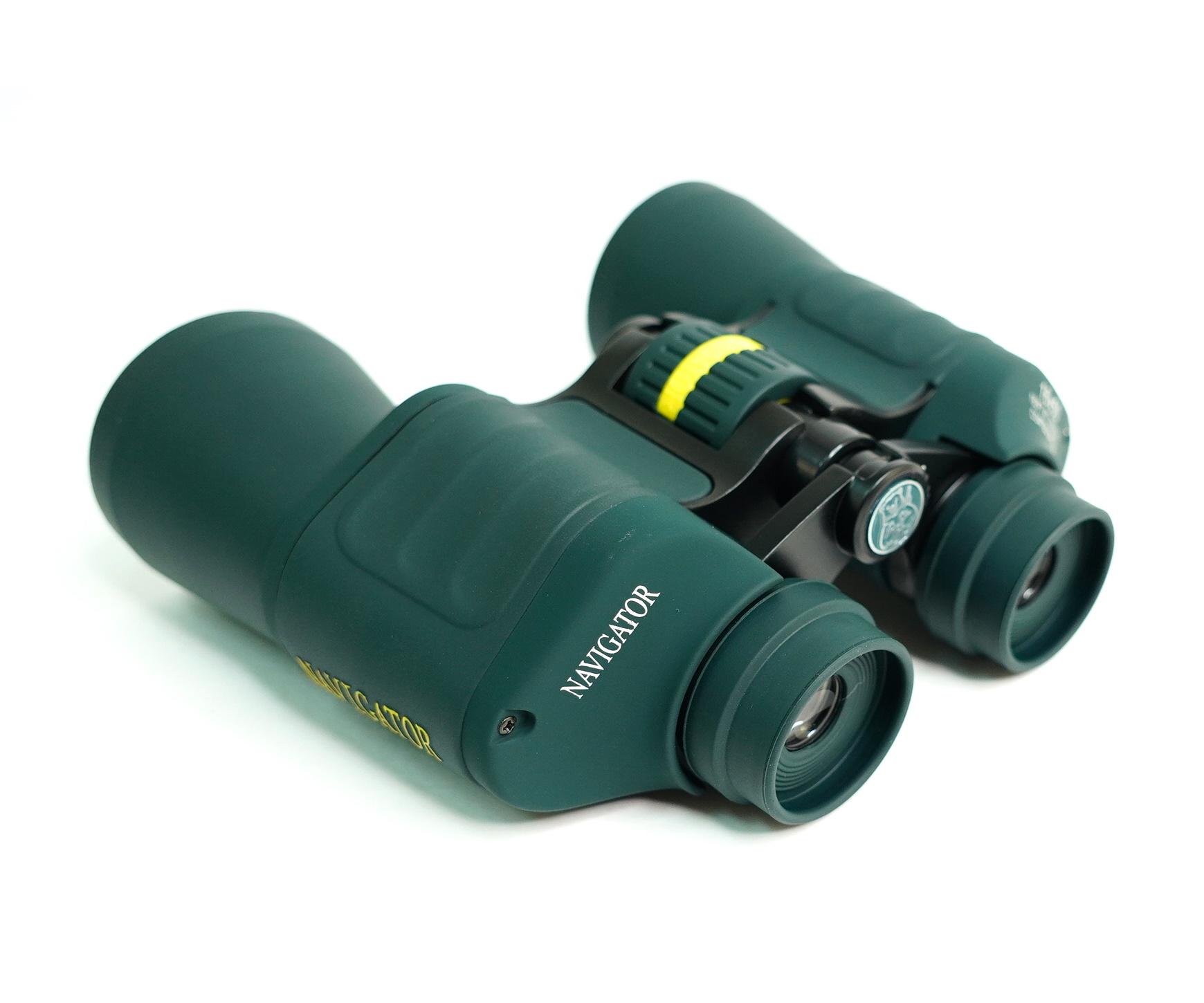 Бинокль Navigator 16x50 profi (Porro, зеленый)