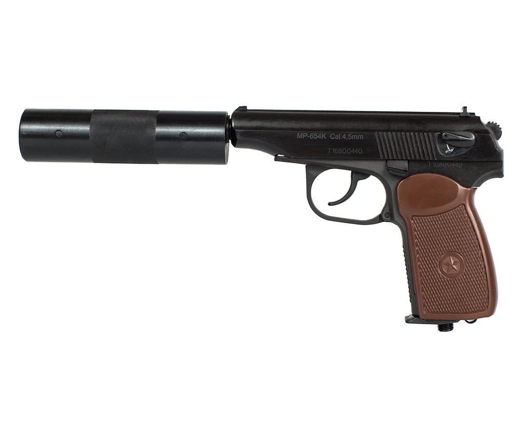 Пневматический пистолет Baikal МР-654К-22 (ПМ, с глушителем)
