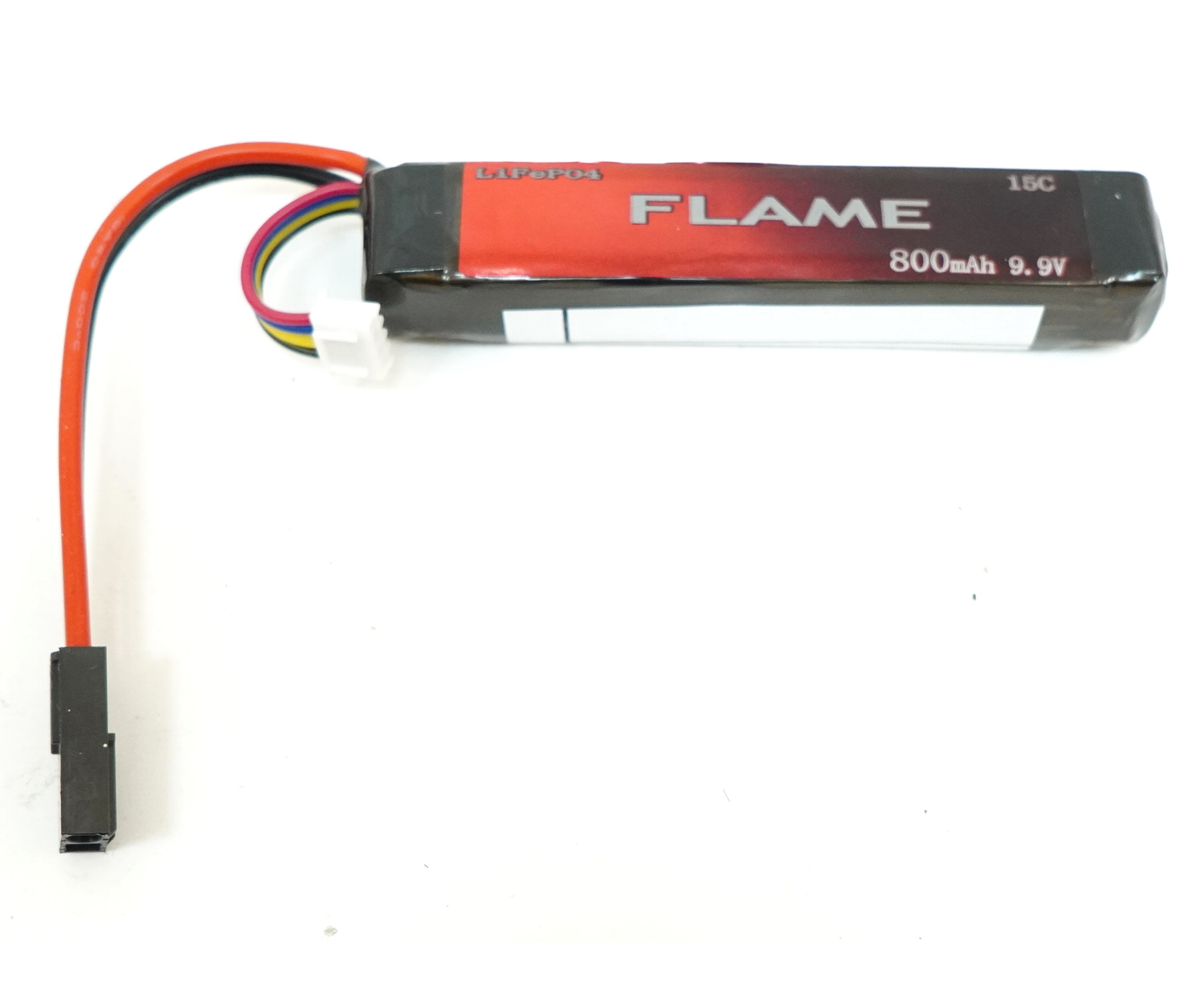 Аккумулятор Flame LiFePO4 9.9V 800mah 15C M3E08, 100x21x18 мм